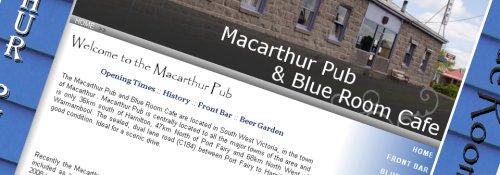 Macarthur Pub Website
