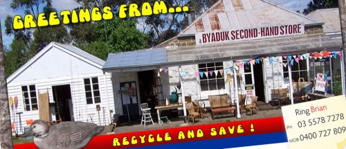 a Byaduk Second-Hand Store