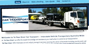 Visit Car Transport To Your Door website