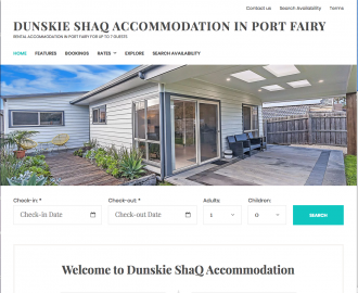 DUNSKIE SHAQ PORT FAIRY ACCOMMODATION